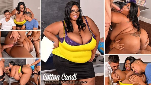 Cotton Candi   Ebony Black Tits  Fattie  HD