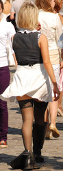 street candid, ricas hembras hermosas OOPS descuidos!  Fei9pfqbb935