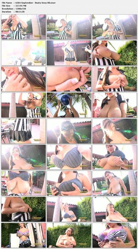 September   Busty Sexy Referee 2 HD