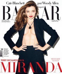 Harper's Bazaar Magazine (January 2014) Spain